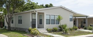 Manufactured Home at Shadow Wood Village mobile Home Community in Hudson Florida
