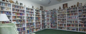 Library at Shadow Wood Village mobile Home Community in Hudson Florida