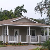 Manufactured Home Exterior View