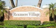 Entrance to Rexmere VIllage