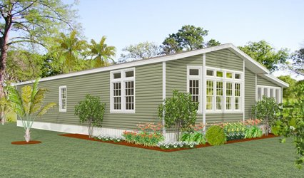 Exterior rendering Jacobsen Homes floor plan TNR-5572B