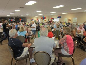 A dance at Lincolnshire Estates manufactured home community in Largo Florida
