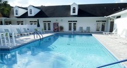 Community pool at Fairfield Village manufactured home community in Ocala Florida