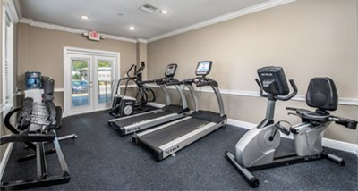 Fitness Room at Lakeshore Villas