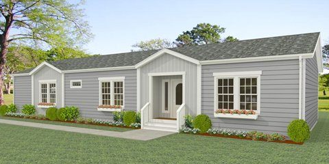 Exterior rendering Jacobsen Homes floor plan IMP-5661W