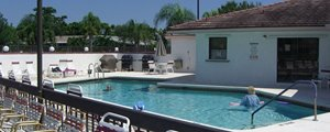 community pool at Tallowwood Isle clubhouse