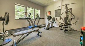 Fitness Room at Walden Shores