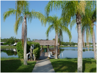 Lakefront living at Tall Oaks of Naples