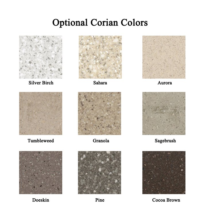 Corian Counter-top Colors
