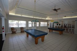 Retirement recreation center at %25%25+ mobile home park in Largo, Florida