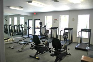 Fitness Room at Tropical Harbor